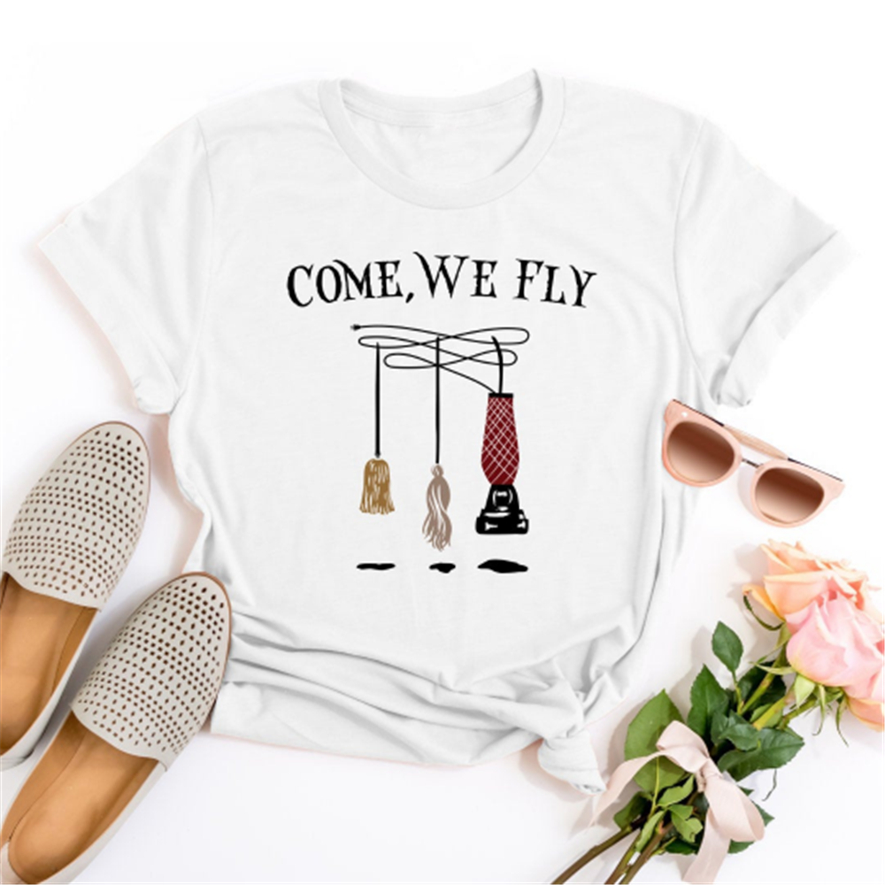<font><b>Sanderson</b></font> Sisters <font><b>Shirt</b></font> Hocus Pocus <font><b>Shirt</b></font> Tonight We Fly <font><b>Shirt</b></font> Halloween <font><b>Shirt</b></font> High Quality Casual Printing Tee <font><b>Shirt</b></font> image