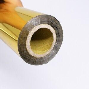 Image 5 - Rollo de 80M de papel de aluminio para estampado en caliente para laminado, transferencia de calor en impresora láser, papel para manualidades