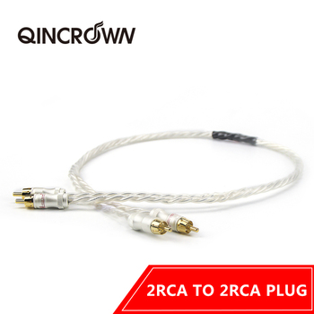 HiFiPair odin interconnect cable  silver plated copper signal wire , hifi audio video extend cable