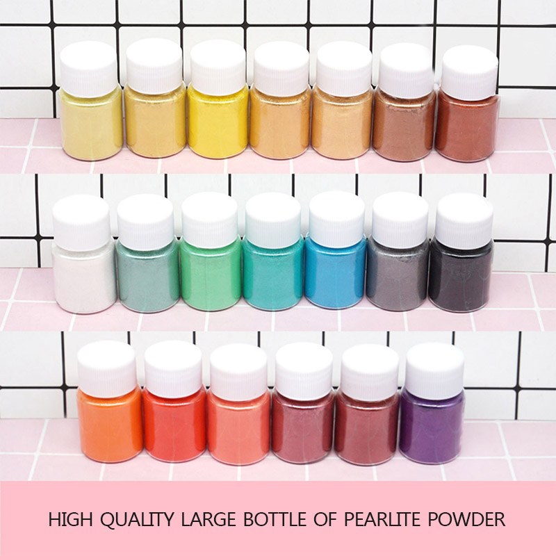 25ml Pearlescent Mica Pigment Powder Rainbow UV Resin Epoxy For DIY Jewelry Making 24 Colors Making Crafts  LXH
