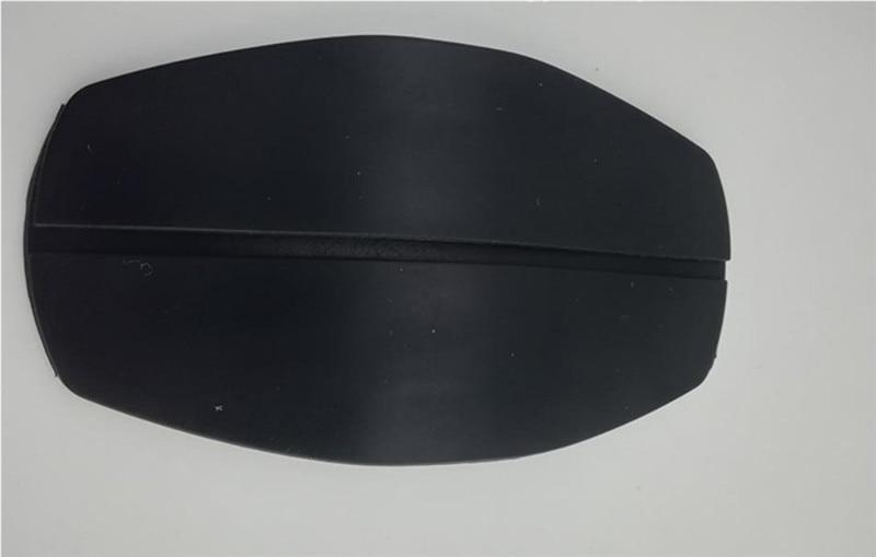 2 шт Наплечные подушечки Бюстгальтер ремень Защита силиконовый противоскользящая Подушка DIY для пошива швейных изделий ремесла аксессуары - Цвет: Black