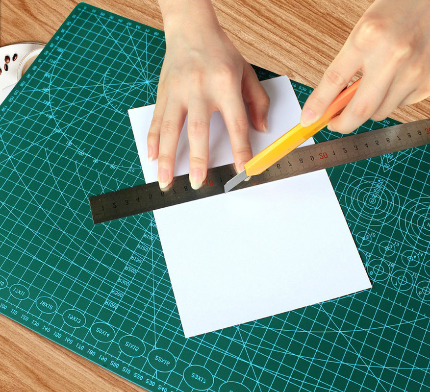 Clearance SaleCushion-Board Paper Cutting-Mats Rubber-Seal Drawing Model Workbescaling DIY A3 Handwritten-Test