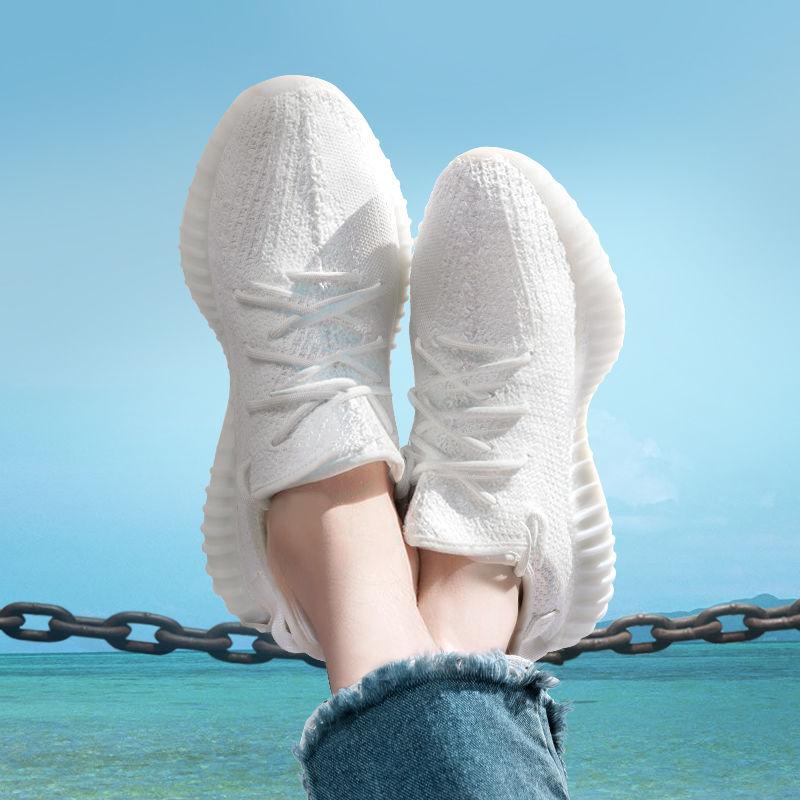 Беговые кроссовки Israfil Core Мужские, тройные, белые, кремовые, черные, воздушные, дизайнерская обувь, 350 V2