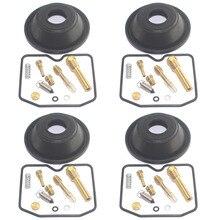 4set für BANDIT GSF600S 2001 2003 GSF 600 GSF600 S Plunger membran von motorrad vergaser reparatur kit