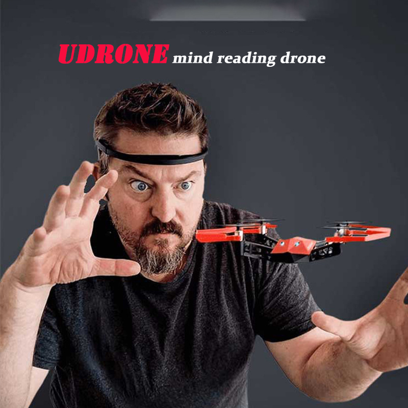 UDrone Mind Drone Intelligent Brain Wave Control Mini Mini Small Aircraft Hd Selfie Remote Control Aircraft Focus Training