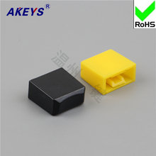 20pcs A46/ black and yellow with key switch/key switch hat high quality direct key switch hat switch self-locking
