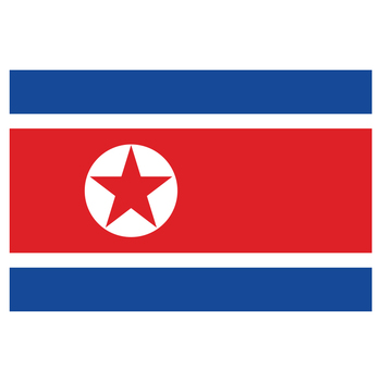 free  shipping xvggdg North Korea Country Flag 3 x 5 PRK KP NK north korea flag For Decoration