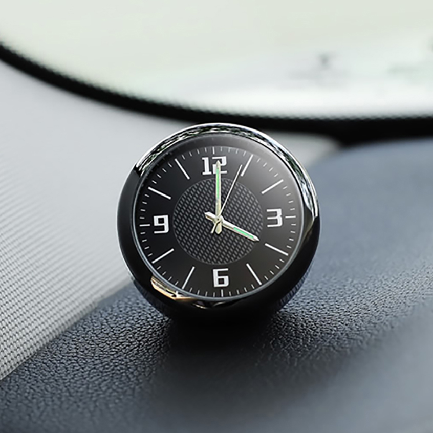 Luminous Car Clock Ornaments Auto Watch Air Vents Outlet Clip Decoration Auto Dashboard Time Display Clock In Car Accessories