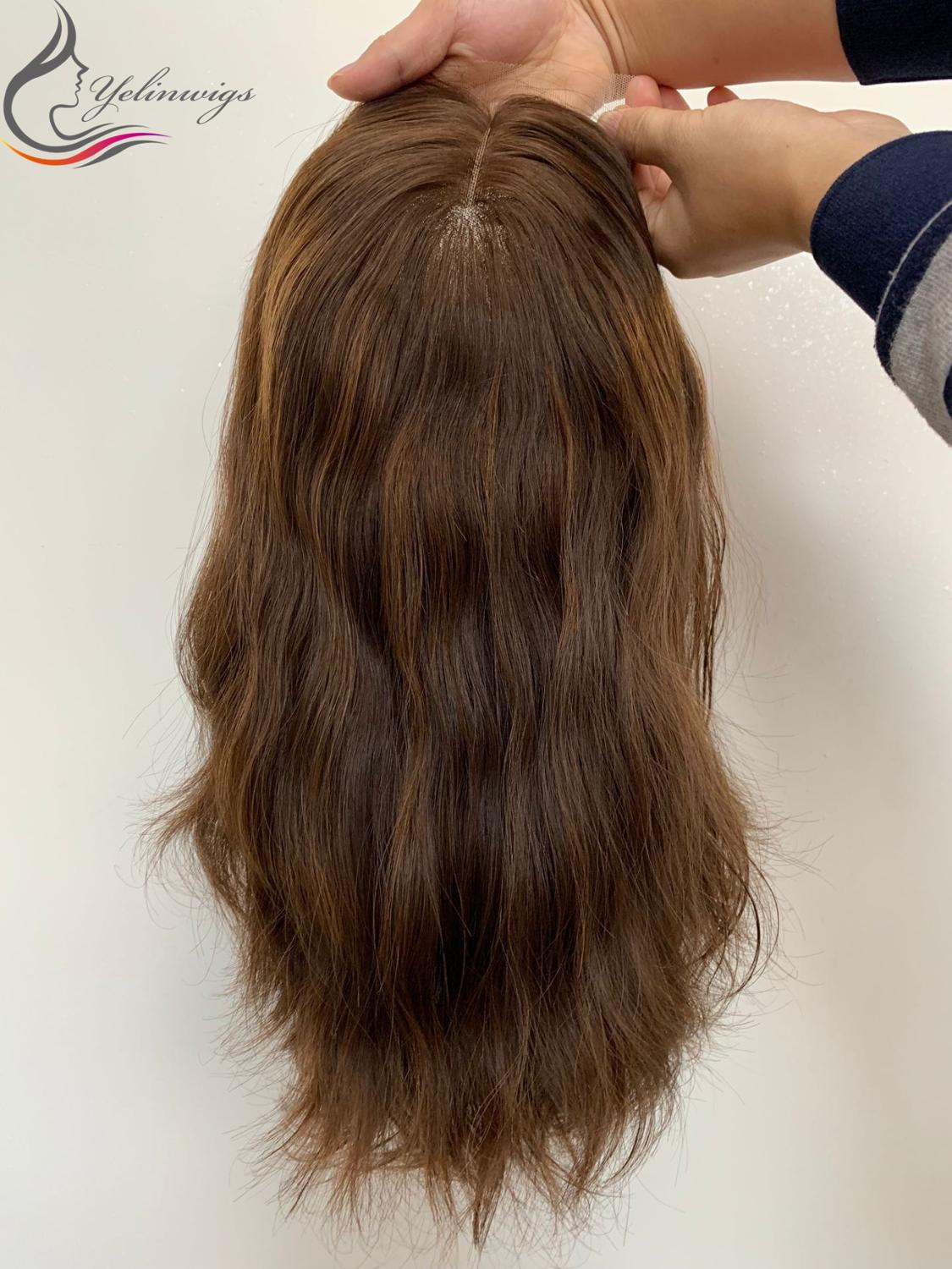 New Arrival European Hair Lace Top Wigs Best Jewish Kosher Wig Customized Wig