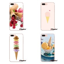 Waffle Cone For Sony Xperia Z Z1 Z2 Z3 Z5 compact M2 M4 M5 E3 T3 XA Aqua LG G4 G5 G3 G2 Mini Soft Transparent Shell Covers(China)