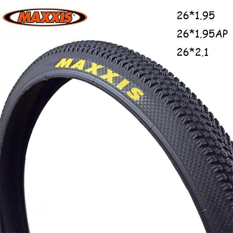 MAXXIS 26 PACE велосипедные шины 26*2,1 26*1,95 MTB горные велосипедные шины 26 1,95 26 2,1 велосипедные шины Pneu De Bicicleta белый/желтый логотип