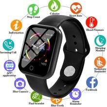 2020 Смарт часы для мужчин монитор сердечного ритма фитнес трекер