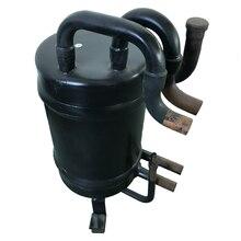 9 кВт Высокая эффективность медная ребристая трубка в оболочке теплообменника для теплового насоса