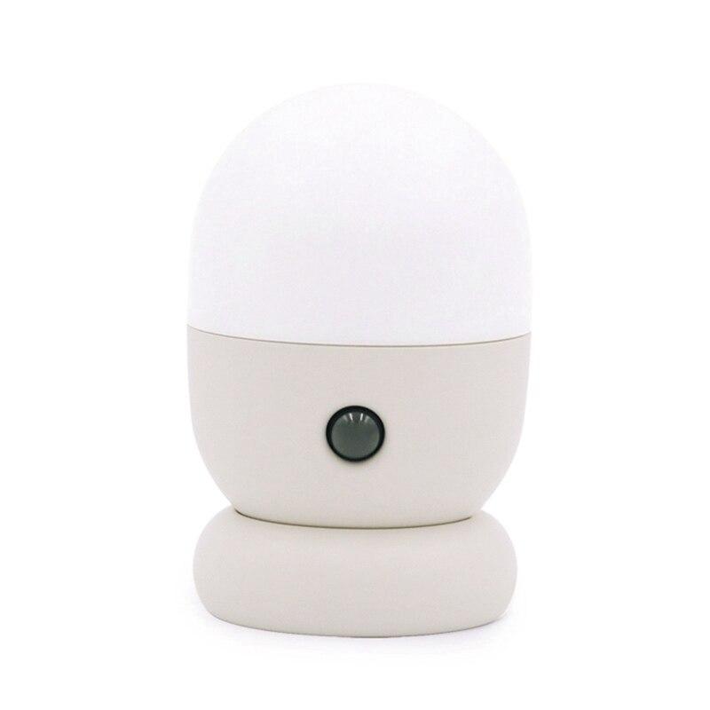 Işıklar ve Aydınlatma'ten Dış Mekan Duvar Lambaları'de 360 derece dönen otomatik LED gece lambası İnsan vücudu indüksiyon lamba manyetik adsorpsiyon duvar lambası title=