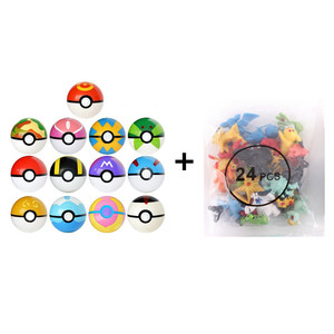 High quality Pokemones Figure Mini figures PokeBall charizard Model Toy Brinquedos Collection Anime Kids Doll
