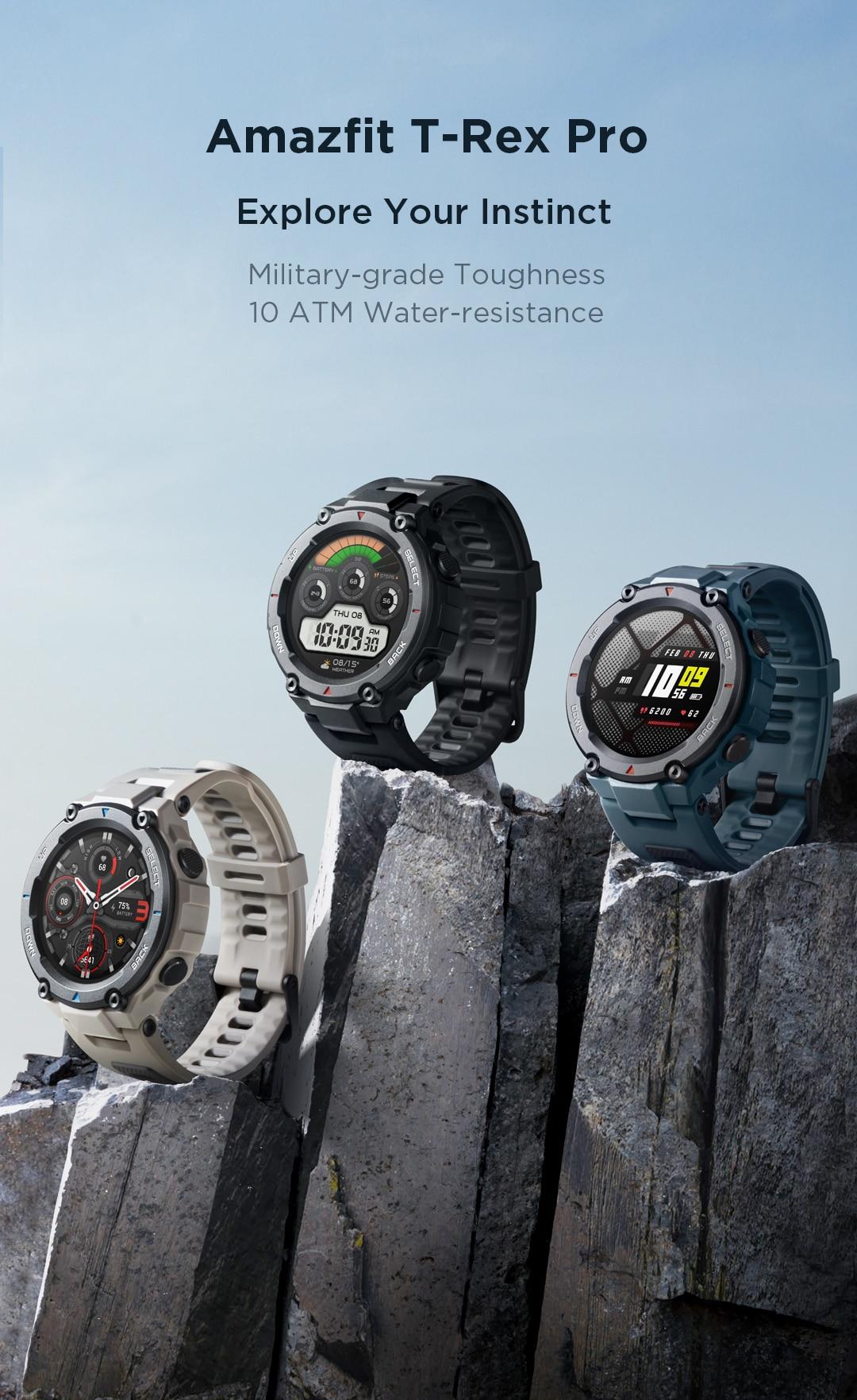 Amazfit T-Rex Pro Smartwatch 6