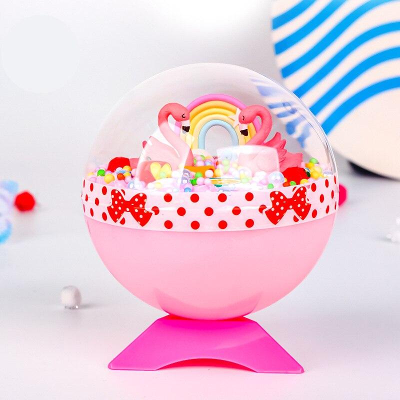 Children Handmade Toys Creative DIY Magic Crystal Ball Toys Baby Micro Landscape Handicrafts Material Bag Eudcational Toys Kids