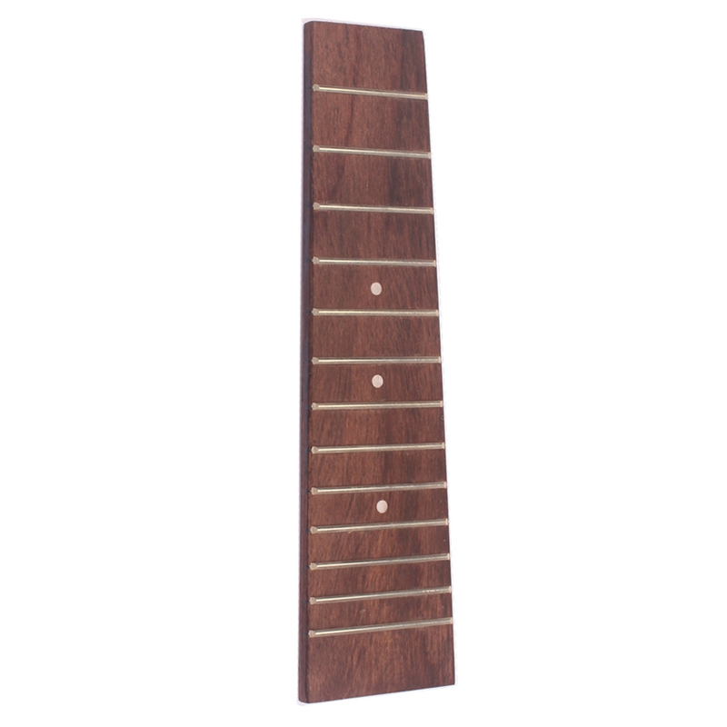 17 Inch Ukulele Fretboard With 13 Frets For Concert Ukulele Guitar Replacement