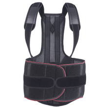 Adjustable Back Posture Corrector Clavicle Spine Back Shoulder Lumbar Brace Support Belt Posture Correction Prevents Slouching цена 2017