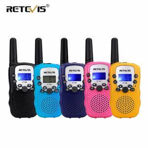 2pcs Mini Walkie Talkie Kids R