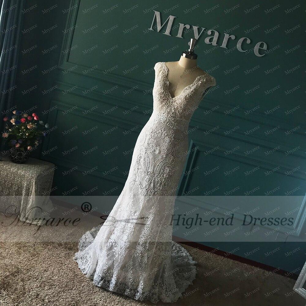 Hot Discount Mryarce Unique Bride Vintage Crochet Lace Boho