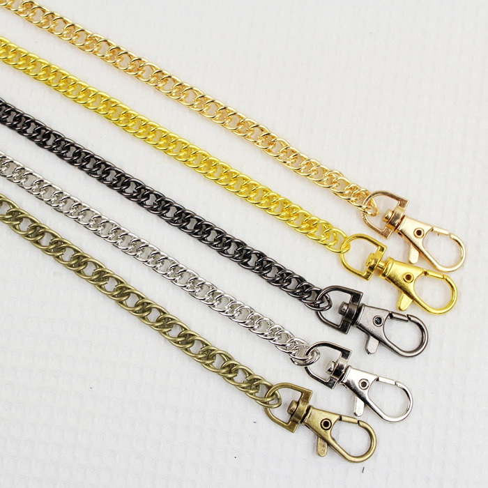 10pcs 40cmmetal Chain For Purses/bags Diy, Four Colors ,high Quality Purse Accessory ,metal Purse Frame Chains Metal Bag Chains