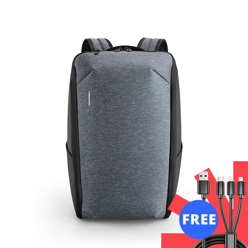 Kingsons multifunction men 15 polegada portátil mochilas moda à prova dwaterproof água mochila de viagem anti-ladrão masculino sacos de escola quente