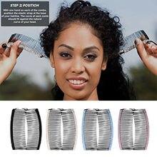 1pc Vintage Banana Hair Clip Women Lazy Hair Comb Vintage Stretchable Hair Acces