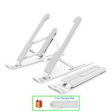 Soporte ajustable para ordenador portátil, accesorio antideslizante y plegable para Macbook Pro Air