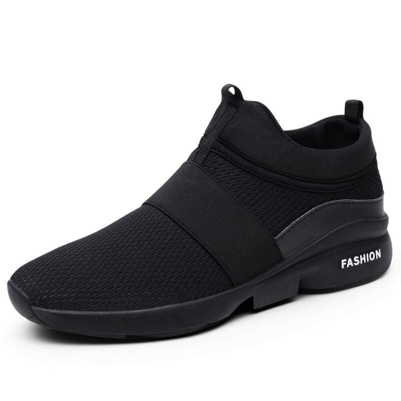 Superlight Walking Shoes Men Breathable Mesh Men's Sneakers Slip On Sports Shoes Man Outdoor Comfortable Jogging B