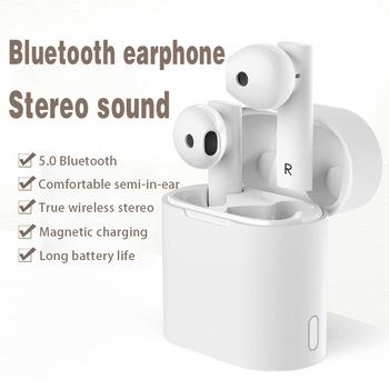 Transgraniczny nowy zestaw słuchawkowy M6 Bluetooth TWS prawdziwe bezprzewodowe obuuszne 5 0 ruch Stereo inteligentny głos anty-hałas tanie i dobre opinie