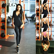 IELGY Explosive summer yoga clothing women's hot bandage sports jumpsuit