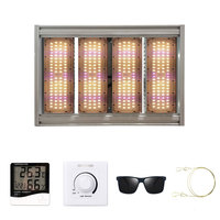 IP65 0 10V Dim Actual 240W/480W Samsung LM301B Chips Led Grow Light Full Spectrum Phyto Lamp For Medicinal Plants For Grow Tent