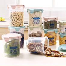 Kitchen Containers Cereal Storage Box Kitchen Airtight Sealed Lid Grains Rice Beans Container Case Storage Container kitchen stackable sealpot plastic containers box with buckle storage box for food cereal container fridge organizer storage
