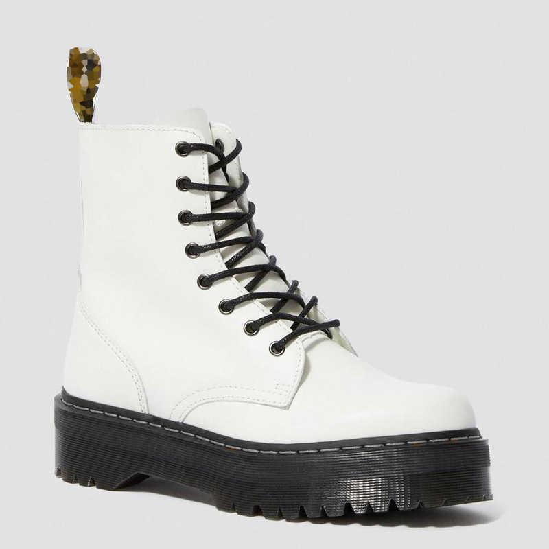 ผู้หญิงรองเท้าสีดำของแท้หนังมาร์ตินข้อเท้ารองเท้าสำหรับสตรีฤดูใบไม้ร่วง Lace Up รองเท้าแพลตฟอร์มรองเท้าสไตล์ Street Zapatos De muje