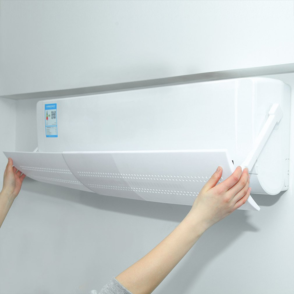 Hanging-type Air Conditioning Windshield Anti-direct Blowing AC Deflector Household Air Conditioning Dustproof Baffle Covers