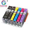6PK PGI580XXL CLI581XXL 580 580XL чернильный картридж для принтера Canon принтерам Pixma TS8150 TS8151 TS8152 TS9150 TS9155 принтер 580XXL 581XXL