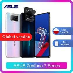 ASUS Zenfone 7/7 Pro 8 Гб Оперативная память 128/256 ГБ Встроенная память Snapdragon 865/865 плюс 5000 мАч NFC Android Q 90 Гц 5G смартфон
