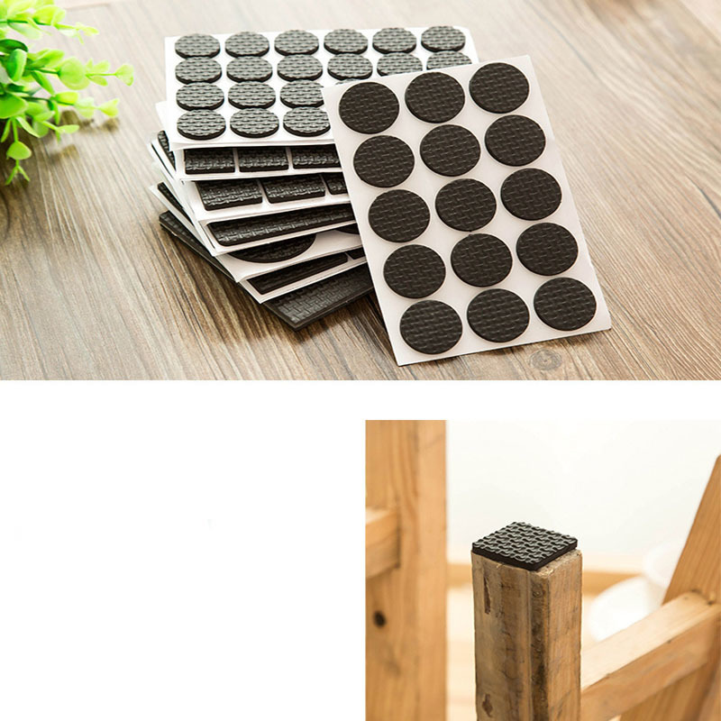 Sofa Table And Chair Stool Legs Mute Wear-resistant Non-slip Table Corner Self-adhesive Protection Pad