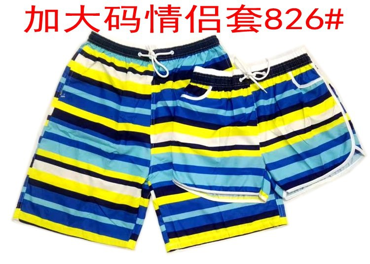 Plus-sized Qing Lv Tao Hot Selling High Quality Twill Beach Shorts Non-Fading Sports Casual Fast Drying Clothes Holiday Swimming