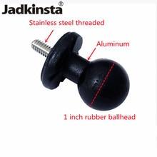 Jadkinsta 1 дюйм шариковая головка конвертер на 1/4 винтовая головка для автомобильного монитора Pad GPS сотового телефона шариковое крепление осно...