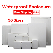 Waterproof Case Junction-Box Electronic-Project-Case Enclosure Plastic Outdoor
