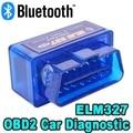 Автомобильный сканер кодов V2.1 OBD2 / OBDII Super MINI ELM327 Bluetooth ELM 327 Версия 2,1 сканер ошибок Android Torque для нескольких брендов