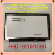 Assembly Lcd-Display Touch-Screen Thinkpad Lenovo B140HAK02.3 FHD LED for X1 Carbon Digitizer