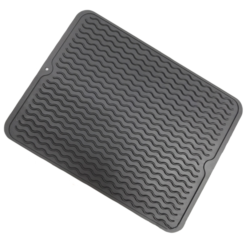 Large Silicone Table Placemat Premium Heat Resistant Drying Mat Tableware Dishwasher Dish Cup Cushion Pad Dinnerware Table Mat