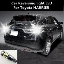 цена Car Reversing light LED For Toyota HARRIER Retreat Assist Lamp Light Refit T15 12W 6000K онлайн в 2017 году