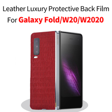 This is A Back Film Note Case Leather Luxury Protective Back film for galaxy fold galaxy fold case galaxy fold back film protective frosted plastic back case for samsung galaxy note 3 white
