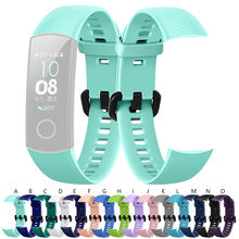 New Fashion Sport Silicone Armband Strap Band Voor Huawei Honor 5 Smart Horloge Polsbandje Horloge Band Fitness Tracker # G20(China)