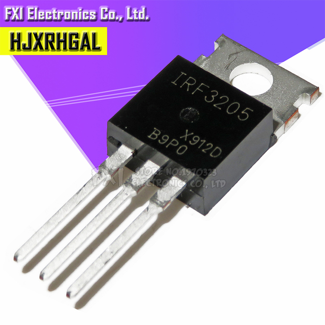 100 adet IRF3205PBF IRF3205 TO 220 TO220 HEXFET MOSFET