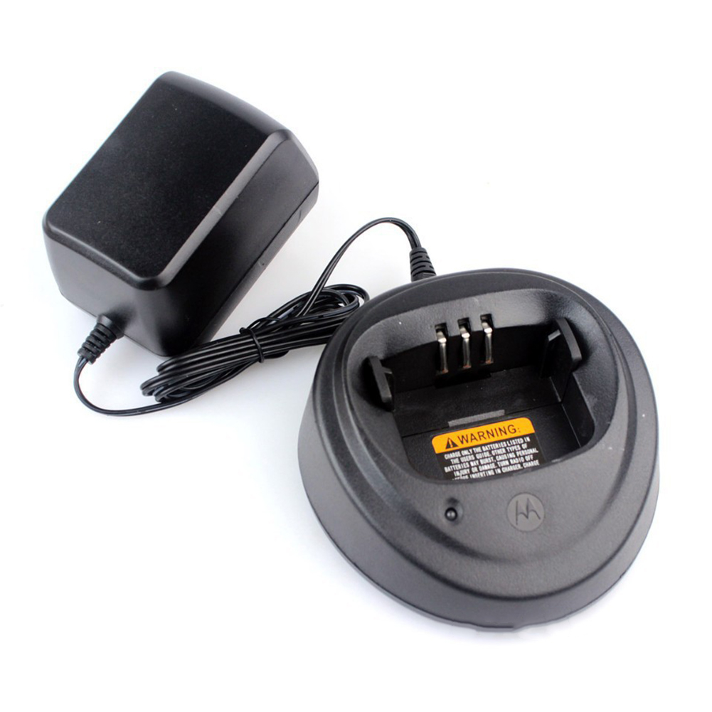 Adapter Indicator Easy Use Walkie Talkie Desktop Radio Power Supply Charger Accessories Durable Smart For Motorola 3188CP040